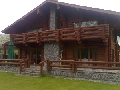 Casa din lemn rotund Resedinta