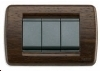 Intrerupatoare electrice Vimar Idea - ornament Wenge